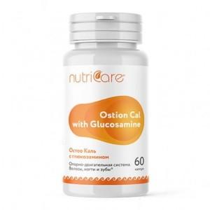 Остео Каль с Глюкозамином, капсулы, 60 шт