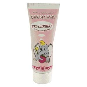 Паста зубная Бебидент вкусняшка