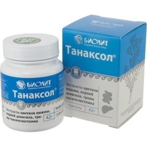 Танаксол, гранулы
