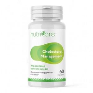 Управление холестерином Нутрикея таблетки, 60 шт