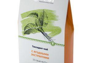 Токсидонт-май с ягодными экстрактами