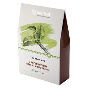 Токсидонт-май с экстрактами сенны и крушины