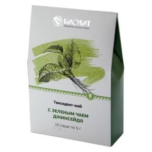 Токсидонт-май с зеленым чаем Джинсейдо