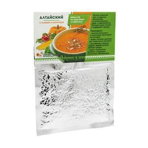 Крем-суп Алтайский с тыквой и кукурузой